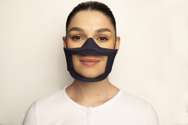 Clear Failte Mask Black 1 Irish Clear Face Mask Ireland Covid