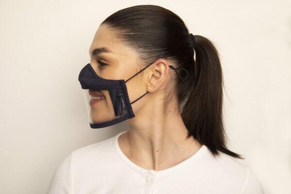 Clear Failte Mask Black 2 Irish Clear Face Mask Ireland Covid