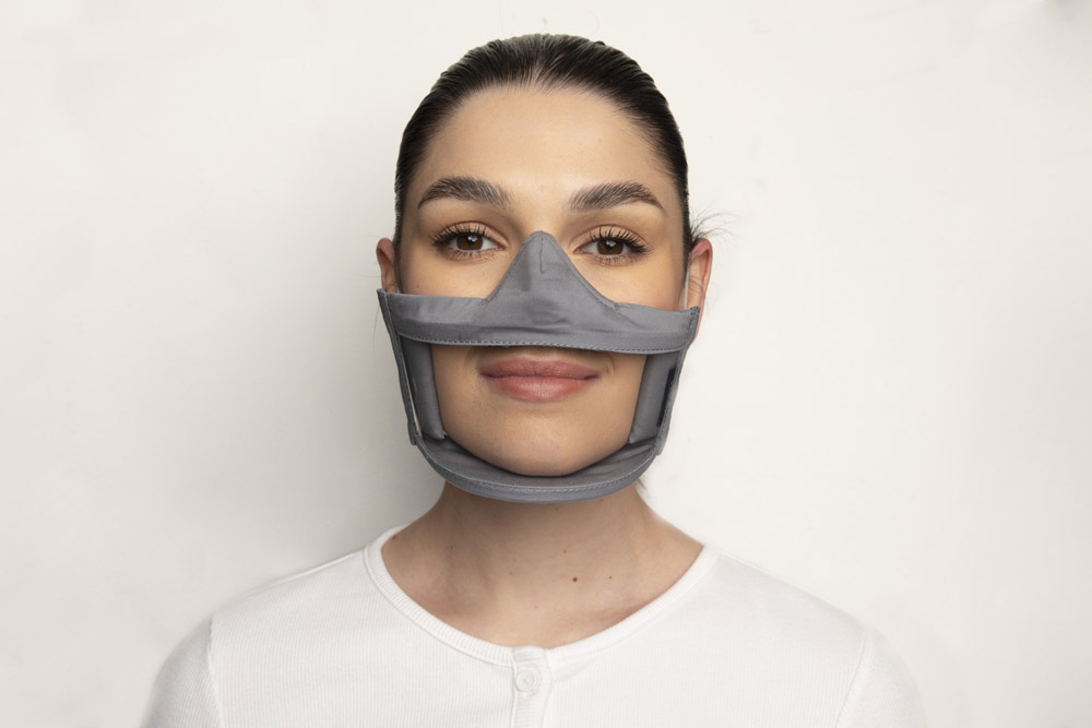 Clear Failte Mask Grey 1 Irish Clear Face Mask Ireland Covid
