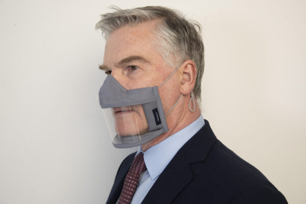 Mens Face Mask Ireland Clear Failte Mask Irish